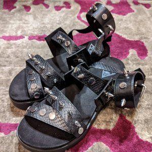 Disturbia Caligula Sandals US7
